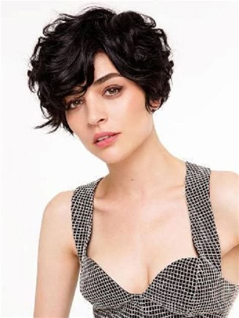 pixie cut thick wavy hair 19 cute wavy curly pixie cuts we love pixie haircuts