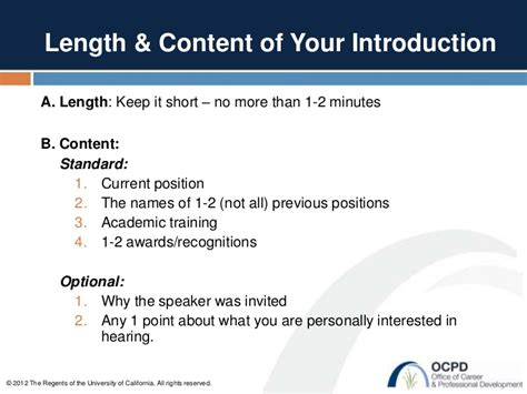 template for introducing a speaker ucsf ocpd how to introduce a speaker