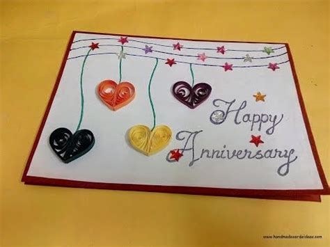 how to make wedding anniversary cards 2 how to make a handmade anniversary card for husband complete tutorial
