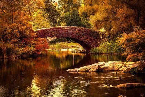 Duvet New York The Gapstow Bridge Photograph By Chris Lord