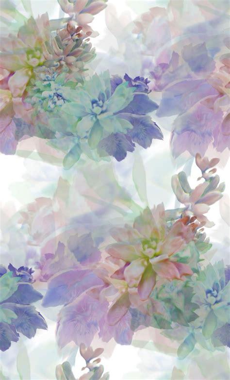 wallpaper flower pastel soft blurred floral pastel textiles digital