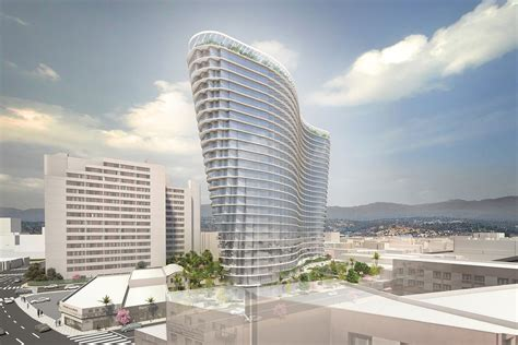 los angeles architects studio unveils la project a 26 story tower in