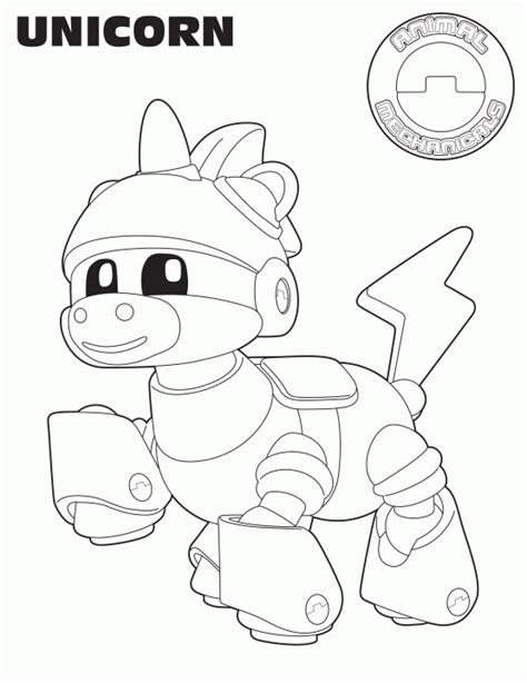 Animal Mechanicals Coloring Pages animal mechanicals coloring pages coloring home