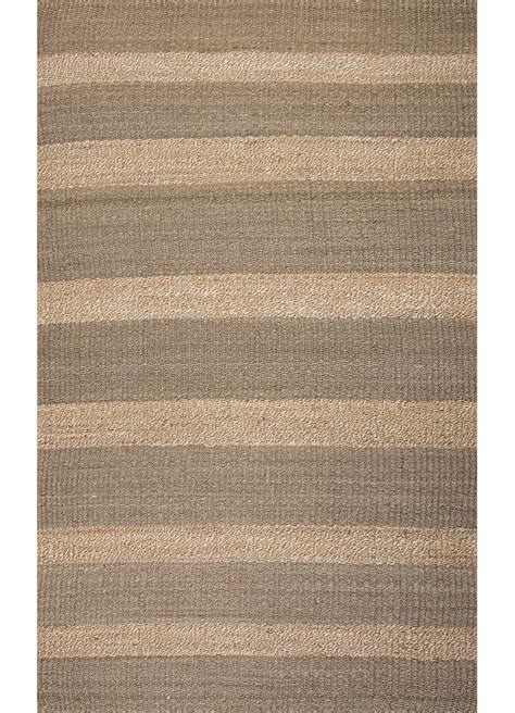jute rug 5x8 asterlane naturals solid pattern gray taupe jute area rug 5x8 ebay