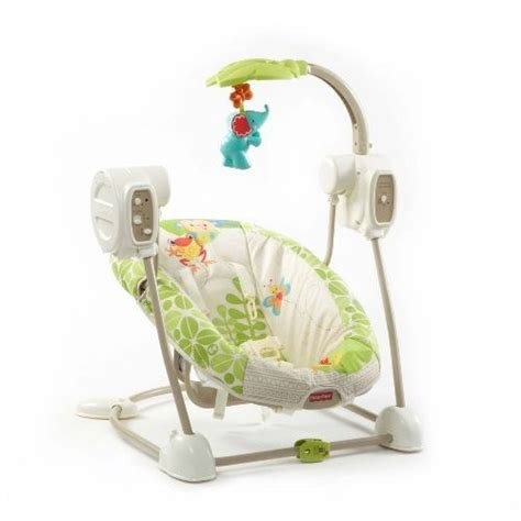 fisher price space saver swing seat fisher price space saver swing y seat rainforest amigos