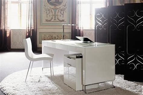 Modern white home office furniture inspired home designs