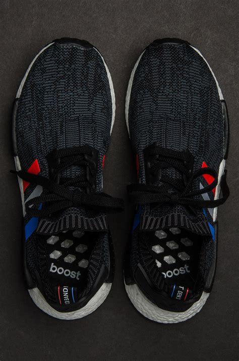Ads Nmd R1 Tri Colour Black Blue 1 adidas nmd r1 primeknit tri color pack sneakernews