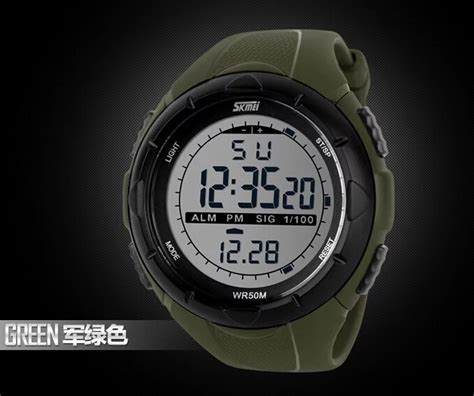 Mortima Casual Water Resistant 5atm Coklat skmei 1025 mens sports watches 5atm dive