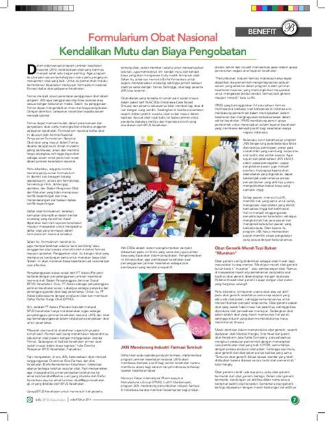 Obat Obat Penting Edisi 7 majalah info bpjs kesehatan edisi 8 tahun 2014
