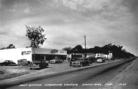 florida memory shopping center with post office and