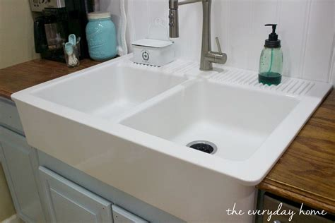 farm house sink ikea farmhouse sink the everyday home