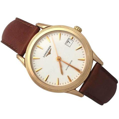 longines flagship 18k gold gent s wrist