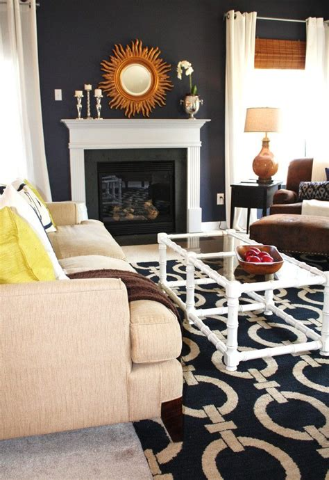 blue patterned round rug for living room all about rugs navy blue living room rug living room