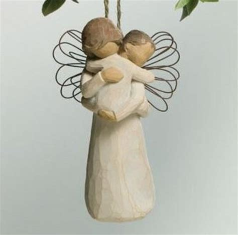 willow tree angel s embrace ornament let s buy christmas