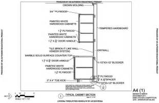 Kitchen cabinet section rooms