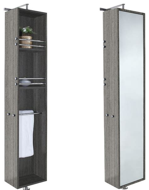 full length bathroom mirror cabinet april 360 degree rotating floor cabinet with full length