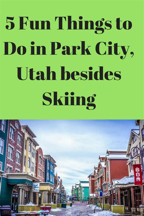 Places To Go On Your Birthday In Utah by 5 Things To Do In Park City Utah Besides Skiing Us