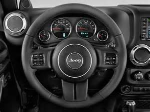 Jeep Steering Wheel Image 2011 Jeep Wrangler Unlimited 4wd 4 Door Rubicon