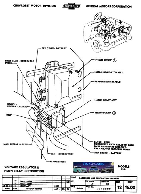 Problems With Regulator And Generator Trifive Com 1955