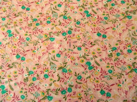 small print upholstery fabric vintage 70s small floral print fabric tickled 2