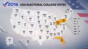 us map and electoral votes u s map of electoral college votes in 2016