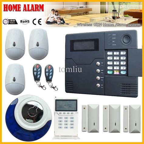 wireless wired gsm home security alarm system alarm