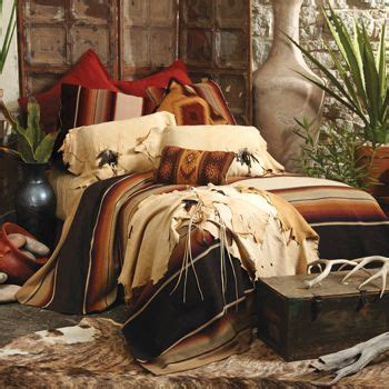 southwestern american indian mexican rustic style bedding southwest bedroom and crows on pinterest
