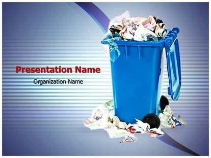 Powerpoint Template Free Waste Carisoprodolpharm Com Waste Management Powerpoint Template