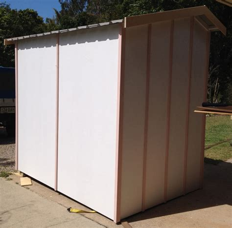 timber garden shed unpainted made to order