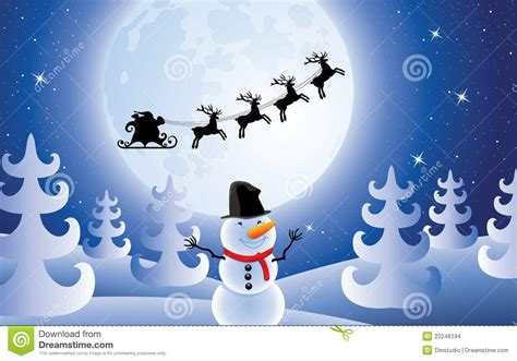 Moving Blue Moving Blue Mblue Polo vector santa claus trees and snowman stock vector image
