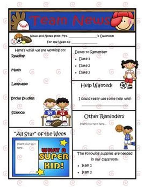 learning objectives posters farm theme newsletter