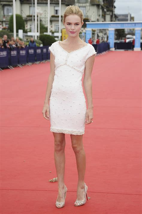 Channel Dress 2 kate wore a white chanel minidress at the another happy day photocall a decade of kate