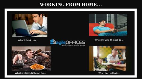 work from home office working from home perks and problems agile offices