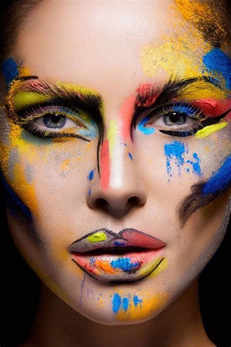 creative in make up but what we see in these hot girls wallpaper 25 best ideas about mime face paint on pinterest