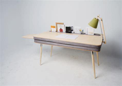 design milk desk a comfortable work desk that holds everything design milk