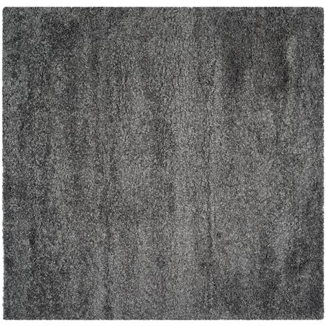 10 X 14 Charcoal White Gray Rug by Safavieh California Shag Gray 7 Ft X 7 Ft Square