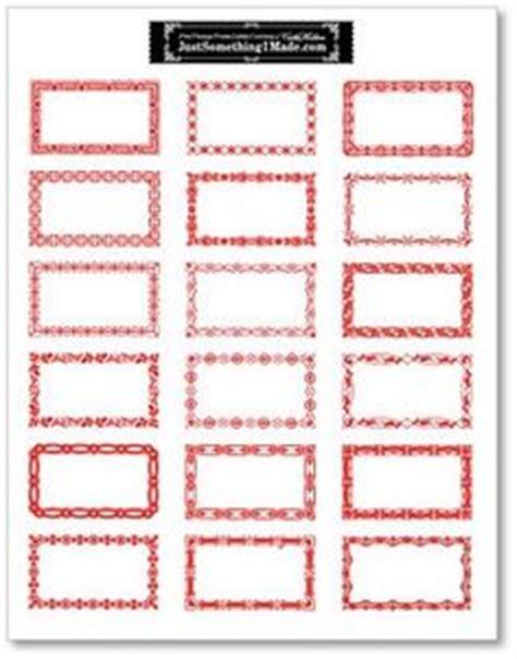 printable n64 labels 1000 images about red bordered labels gummed vintage