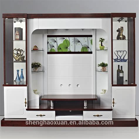 wooden wall units for living room shx design living room tv set furniture 9905 led tv wall