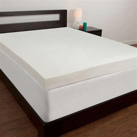 comfort revolution memory foam topper review comfort revolution twin xl memory foam mattress topper f02