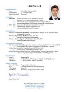 Bewerbung Studium Welche Unterlagen Der Perfekte Lebenslauf F 252 R 214 Sterreich Deutschland Und