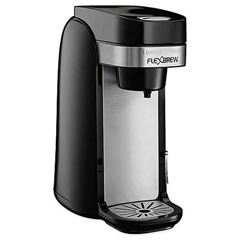bed bath coffee maker buy hamilton beach 174 flexbrew 174 49997r single serve coffee