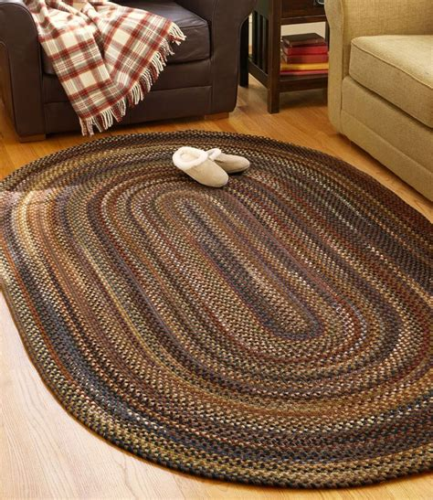 llbean braided rugs