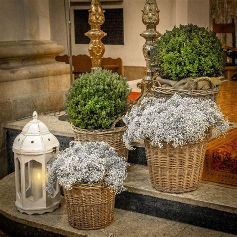 decoracion floral bodas boj paniculata y velas www mardeflores mi boda de