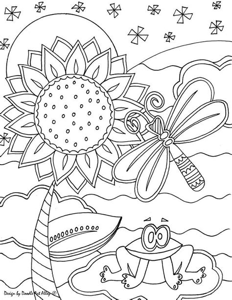 coloring book artist doodle alley coloring pages coloring home