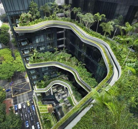 eco friendly architecture when buildings mimic nature singapore s parkroyal hotel