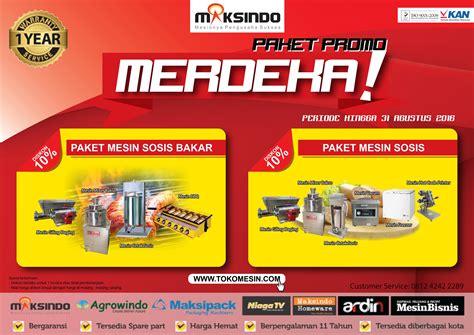 Paket Promo Budling Mesin Kopi Paket Promo Merdeka Up To 10 Toko Mesin Maksindo Bandung Toko Mesin Maksindo Bandung