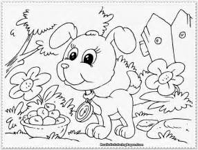 puppy coloring books free big puppy coloring pages