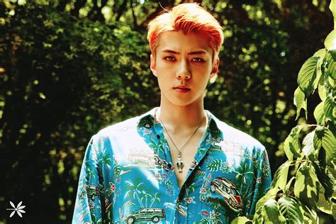 update exo s sehun looks effortlessly beautiful in latest