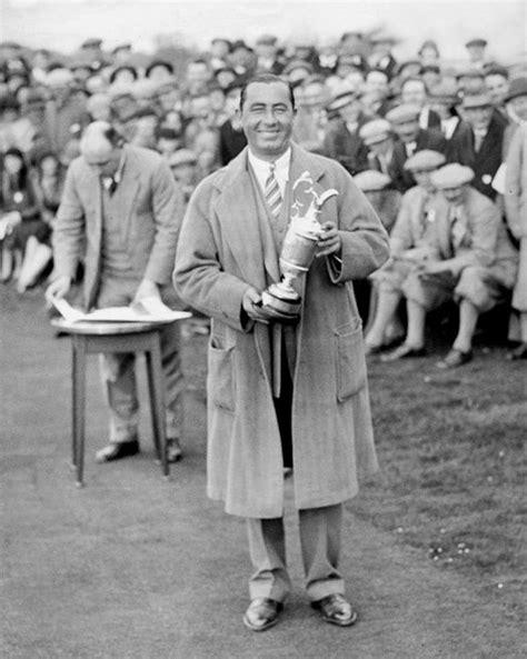 walter hagen swing 1929 pro golfer walter hagen glossy 8x10 golf photo
