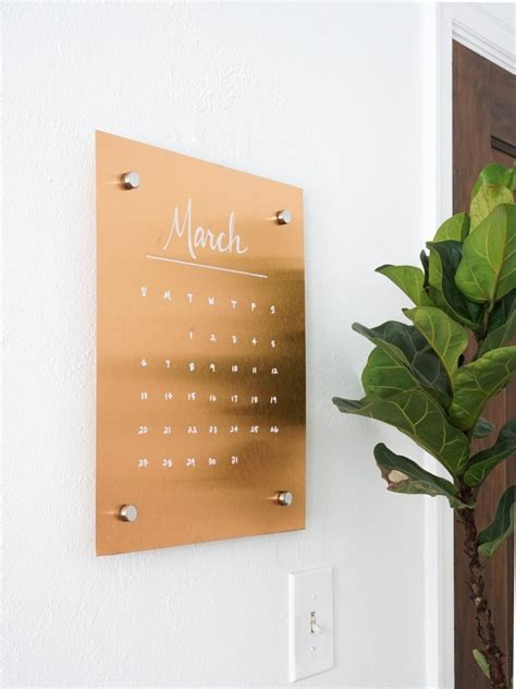 Message Board stylish diy wall copper message board shelterness